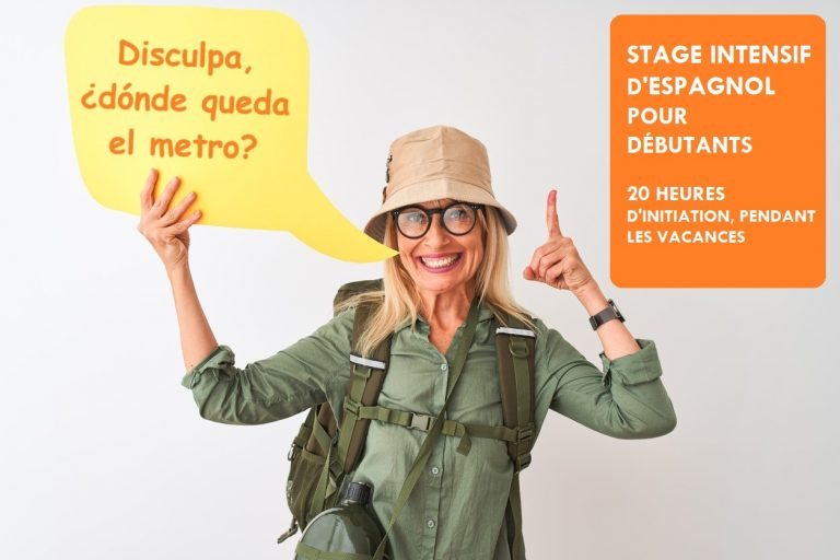 Stage intensif d'espagnol débutant